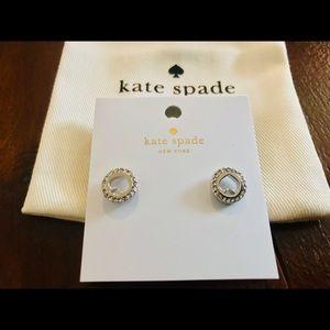 NWT Kate Spade Spot The Spade Earrings